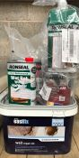1 X LOT TO CONTAIN AN ASSORTMENT TO DIY RONSEAL AND EASIFIX PRODUCTS