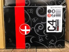 1 X BOX OF PLUX FABRIC C4 ENVELOPES (100 PER BOX) / AS NEW