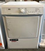 AEG T65170AV VENTED TUMBLE DRYER,