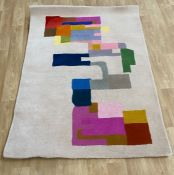 LA REDOUTE DESIGNER WOOL RUG BY THINK RUGS 120X170CM