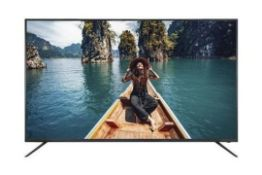 "LINSAR 58UHD8050FP 58"" 4K LED SMART TV RRP £399.00"