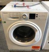 HOTPOINT NSWJ842UW FREESTANDING WASHING MACHINE