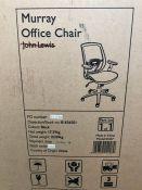 JOHN LEWIS MURRAY ERGONOMIC OFFICE CHAIR