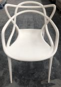 PHILIPPE STARCK FOR KARTELL MASTERS CHAIR - WHITE