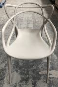 PHILIPPE STARCK FOR KARTELL MASTERS CHAIR - GREY