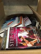 1 LOT TO CONTAIN AN ASSORTMENT OF HOMEWARE ITEMS, CONDITIONS VARY, ITEMS TO INCLUDE : BOOKS, CD'S
