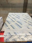 1 LOT TO CONTAIN 7 X PACKS OF AS NEW COLOURMOUNT 801 IVORY BOARDS 594MM X 841MM, EACH PACK