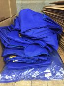 1 LOT TO CONTAIN AN ASSORTMENT OF WORK PANTS AND OVERALLS, SIZES VARY