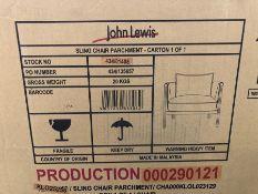 JOHN LEWIS SLING ARMCHAIR