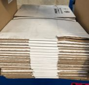 1 X STACK OF PRESSEL CARDBOARD/CARDBOARD BOXES / AS NEW