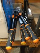 3 X MAGNUSSON ANVIL TELESCOPIC LOPPERS RRP £42.00 (UNTESTED CUSTOMER RETURNS)
