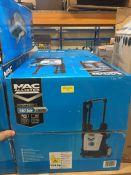 1 X MAC ALLISTER CORDED PRESSURE WASHER 1.8KW (UNTESTED CUSTOMER RETURNS) RRP £110.00