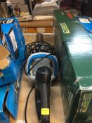 1 X MAC ALLISTER EASYCUT MHTP520 520W 500MM CORDED HEDGE TRIMMER RRP £39.00 (UNTESTED CUSTOMER
