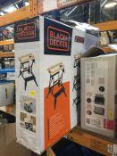 1 X BLACK & DECKER WORKMATE FOLDABLE WORKBENCH (UNTESTED CUSTOMER RETURNS) RRP £44.00