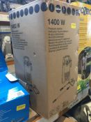 1 X AUTO-STOP CORDED PRESSURE WASHER 1.4KW RRP £47.00 (UNTESTED CUSTOMER RETURNS)