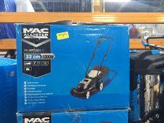1 X MAC ALLISTER MLMP1200-2 CORDED PUSH LAWNMOWER (UNTESTED CUSTOMER RETURNS) RRP £60.00