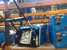 1 X MAC ALLISTER MLMP500HP46 140CC PETROL LAWNMOWER (UNTESTED CUSTOMER RETURN) RRP £218.00