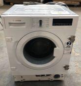 BOSCH SERIE 8 WIW28500GB INTERGRATED WASHING MACHINE