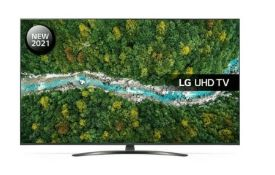 "LG 55UP78006LB 55"" SMART 4K ULTRA HD HDR LED TV WITH GOOGLE ASSISTANT & AMAZON ALEXA / DAMAGED"