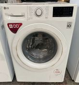 LG F4V308WNW 8Kg 1400 SPIN WASHING MACHINE / UNTESTED CUSTOMER RETURN / RRP £459.99 / WEAR AND