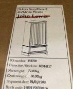 JOHN LEWIS ST IVES DOUBLE WARDROBE