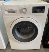 BOSCH SERIE 6 WAU28T64GB 9 KG 1400 SPIN WASHING MACHINE - WHITE (UNTESTED CUSTOMER RETURNS)