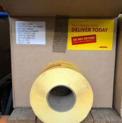 """1 X BOX TO CONTAIN APPROX 12,000 DHL """"FRESH PRODUCE INSIDE DELIVER TODAY"""" LABELS / AS NEW"""