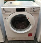 HOOVER HBWS 48D1E-80 INTEGRATED WASHING MACHINE
