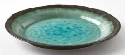 1 X ALTADILL ENAMELLED STONEWARE DINNER PLATE / GRADE A / RRP £48.00