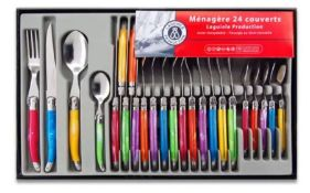 1 X TRADITION 24 PIECE CUTLERY SET / GRADE A MISSING ONE KNIFE FROM SET / RRP £36.00