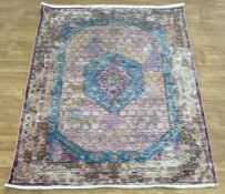 LA REDOUTE DISTRESSED TRADITIONAL RUG - MULTI (160X220)