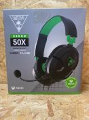 1 X TURTLE BEACH RECON 50X WIRED (XBOX ONE) HEADSET