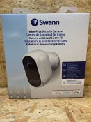 1 X SWANN WIRE-FREE SECURITY CAMERA / RRP £199.99