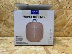 1 X WONDERBOOM 2 BLUETOOTH SPEAKER / RRP £64.99