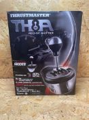 1 X THRUSTMASTER TH8A ADD-ON SHIFTER / RRP £149.99