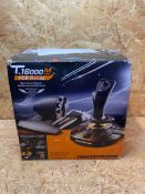 1 X THRUSTMASTER T16000M FCS HOTAS - JOYSTICK AND THROTTLE, T.A.R.G.E.T SOFTWARE, PC / RRP £129.99
