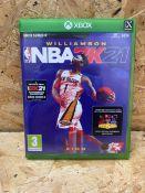 1 X NBA2K21 XBOX SERIES X / RRP £19.99