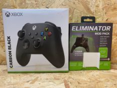 1 X XBOX SERIES X/S CONTROLLER / PLUS WIRED STRIKEPACK ELIMINATOR MOD PACK / COMBINED RRP £74.98