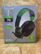 1 X TURTLE BEACH RECON 70 XBOX WIRED HEADSET / RRP £20.99
