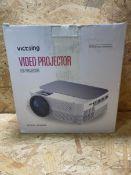 1 X VICTSING LED VIDEO PROJECTOR / RRP £57.99