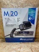 1 X MIDLAND M20 MULTIMEADIA CB WITH USB / RRP £109.00