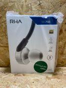 1 X RHA MA750I BLUETOOTH EARPHONES / RRP £239.99