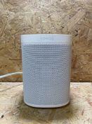 1 X SONOS ONE SL HOME SOUND SYSTREM / RRP £199.99