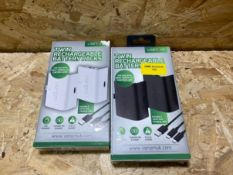 2 X VENOM TWIN RECHARGEABLE BATERY PACKS / COMBINED RRP £19.98
