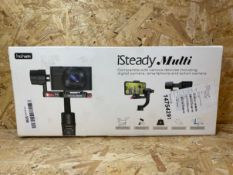 1 X HOHEM ISTEADYMOBILE STABILIZING GIMBAL FOR SMARTPHONES/ RRP £79.99
