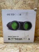1 X OUTDOOR HIGH QUALITY BINOCULARS / RRP £39.99