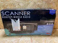 1 X SCANNER DESKTOP/ MOBILE RADIO / RRP £279.99