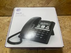 1 X BT PARAGON 650 WITH HEADSET SOCKET AND ANSWER MACHINE TELEPHONE / RRP £54.99