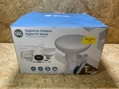 1 X SLX DIGIDOME OUTDOOR DIGITAL TV AERIAL / RRP £35.99