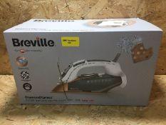 1 X BREVILLE DIAMONDXPRESS 3100W STEAM IRON / RRP £59.99